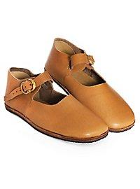 Mittelalter Schuhe - Hasenbein