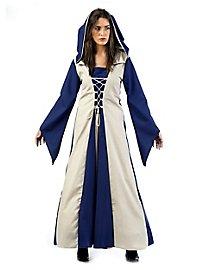 Mittelalter Kostüm Burgfräulein blau