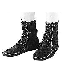 Mittelalter Schuhe schwarz