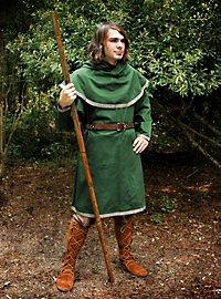Mittelalterliche Tunika grün