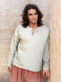 Mittelalterliches Hemd baumwollfarben