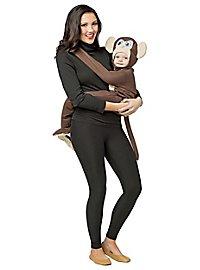 Monkey baby sling