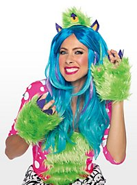 Monster bright green Accessory set