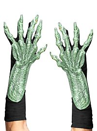 Monster Hands green latex