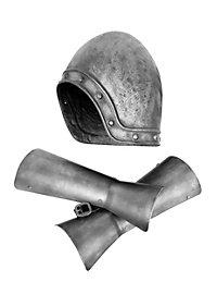 Monty Python French Knight Helmet and Vambraces