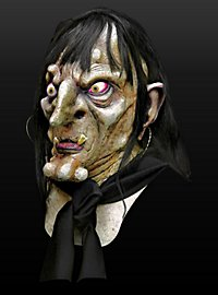Moorhexe Maske aus Latex