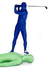 Morphsuit blau Ganzkörperkostüm