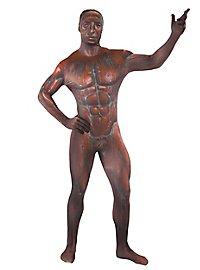 Morphsuit bronze statue full body costume