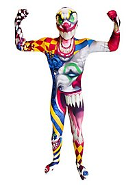 Morphsuit children clown full body costume