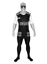 Morphsuit CSI Full Body Costume