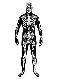 Morphsuit Day Of The Dead full body costume
