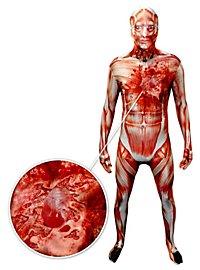 Morphsuit Gehäuteter mit Herzschlag Ganzkörperkostüm