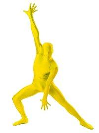 Morphsuit gelb Ganzkörperkostüm