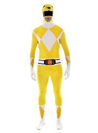 Morphsuit Gelber Power Ranger Ganzkörperkostüm