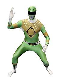 Morphsuit Grüner Power Ranger Ganzkörperkostüm