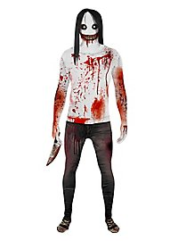 Morphsuit Jeff the Killer full-body costume