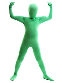 Morphsuit Kids green Full Body Costume