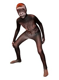 Morphsuit Kinder Gorilla Ganzkörperkostüm