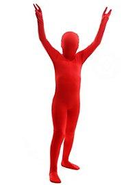 Morphsuit Kinder rot Ganzkörperkostüm