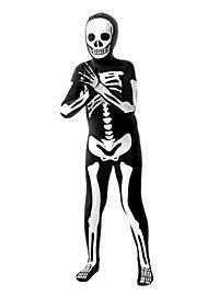 Morphsuit Kinder Skelett Ganzkörperkostüm