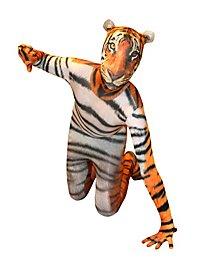 Morphsuit Kinder Tiger Ganzkörperkostüm
