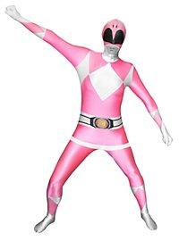 Morphsuit Pink Power Ranger Full Body Costume