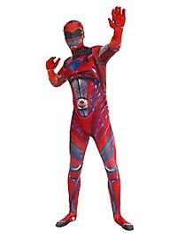 Morphsuit Power Rangers Movie rot Ganzkörperkostüm