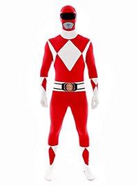 Morphsuit Red Power Ranger Full Body Costume