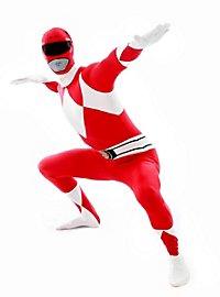 Morphsuit Roter Power Ranger Ganzkörperkostüm