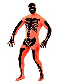 Morphsuit Skeleton orange