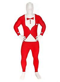 Morphsuit Tuxedo red Full Body Costume