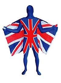 Morphsuit Union Jack Ganzkörperkostüm