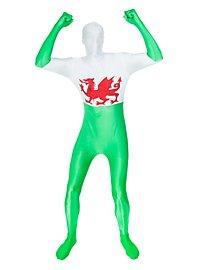 Morphsuit Wales Ganzkörperkostüm