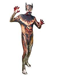 Morphsuit Werwolf Ganzkörperkostüm