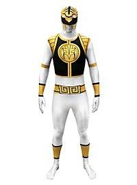 Morphsuit White Power Ranger Full Body Costume