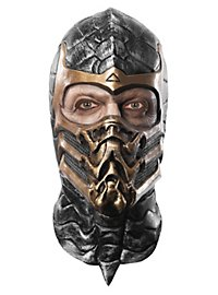 Mortal Kombat Scorpion Maske aus Latex