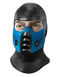 Mortal Kombat Sub-Zero Maske aus Latex