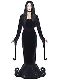Morticia Cartoon Kostüm