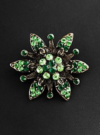 Moschatel Flower Brooch antique