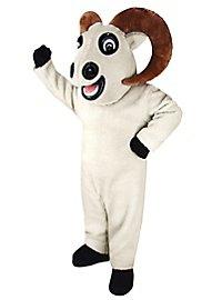 Mouflon du Canada blanc Mascotte