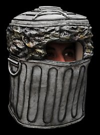 Mülleimer Maske