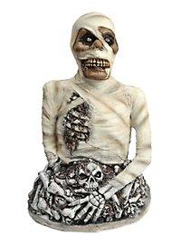 Mumie mit Wurmfraß Halloween Deko