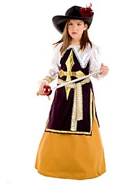 Musketeer Lady Child Costume