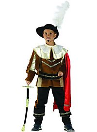 Musketier D'Artagnan Kinderkostüm