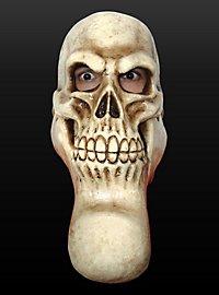 Mutanten Totenschädel Maske aus Latex