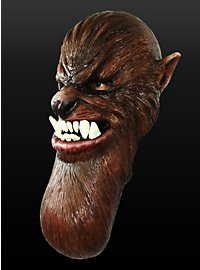 Mutanten Werwolf Maske aus Latex