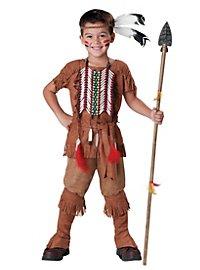 Mutiger Indianer Kinderkostüm