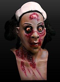 Nachtschwester Maske aus Latex