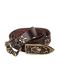 Narrow Mercenary Belt brown