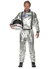 NASA Astronaut silver costume